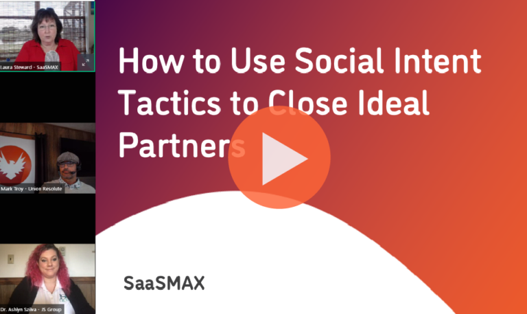 How to Use Social Intent Tactics to Close Ideal Partners